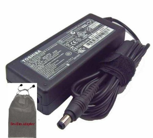 Bundle: 3 items - Adapter/Power Cord//Free Carry Bag:Toshiba AC Adapter 75w 15v5a for Toshiba:Toshiba Satellite M50-P3451 Satellite M50-S4182TD Satellite M50-S418TD Satellite M50-S5181TD Satellite M50-YK5 Satellite M55-S135 Satellite M55-S1351T Satellite M55-S1352 Satellite M55-S139X 100% Compatible With P/N: PA2301U-1ACA, PA3083U-1ACA, PA3201U-1ACA, PA3215U-1ACA, PA3283U-1ACA PA3048U-1ACA, PA3283U-2ACA, PA3283U-3ACA, PA3283U-5ACA, PA3755U-1ACA, PA3241U-1ACA, PA3469U-1ACA