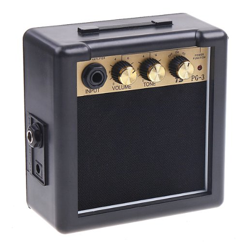 ammoon PG-3 3W Electric Guitar Amplifiers - Black by ammoon