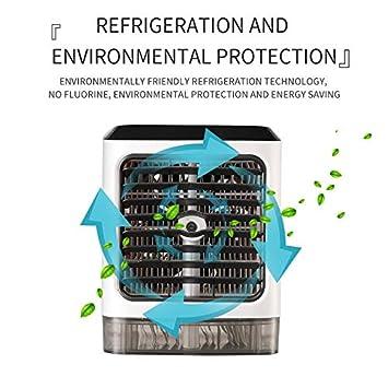 Ventilador de aire acondicionado móvil 3 en 1 humidificador Mini ...