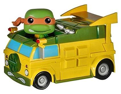 Amazon.com: Funko POP Rides: TMNT – Tortuga Van Toy Figure ...