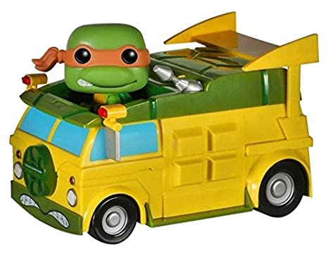 Amazon.com: Funko POP Rides: TMNT – Tortuga Van Toy Figure ...