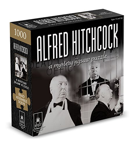 (Classic Mystery Jigsaw Puzzle - Alfred Hitchcock)