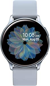Samsung Galaxy Watch Active 2 (44MM, GPS, Bluetooth, Unlocked LTE) Smart Watch with Advanced Health Monitoring, Fitness Tracking , and Long Lasting Battery - Silver - (US Version)