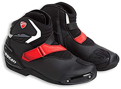 cbe449b562b4c Ducati Theme Technical Short Boots Black by TCX US 9