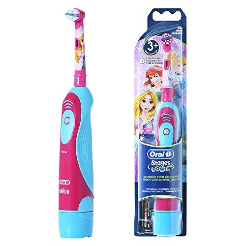 Braun ORAL-B 4510K Stages Power Electric Toothbrush for Kids [ DisneyPrincess]
