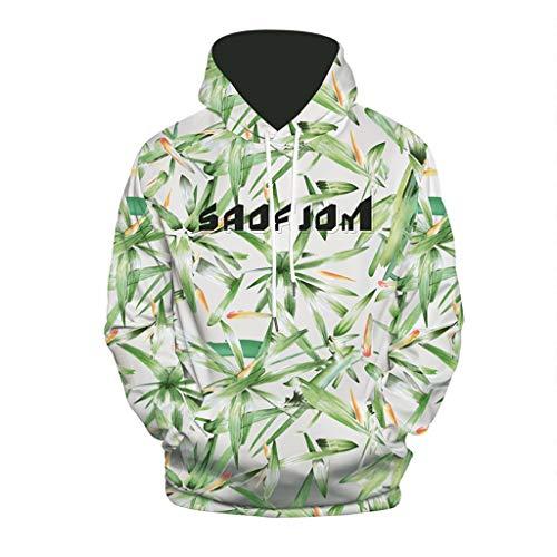 Price comparison product image Transser Men's Premium Drawstring Casual Hoodie Long Sleeve 3D Printed Shirt Warm Sweatershirt Top Blouse