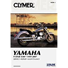 Clymer Yamaha V-Star 1100 1999-2007