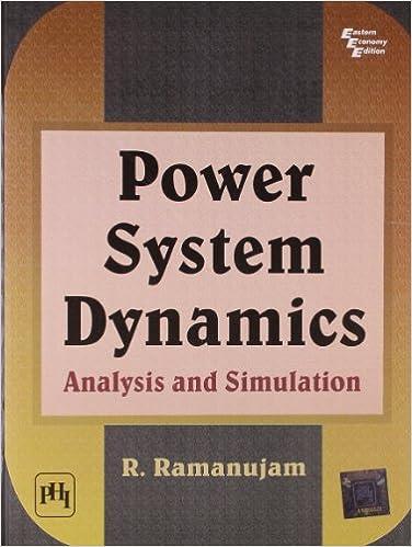 Power System Dynamics: Analysis and Simulation: Ramanujam