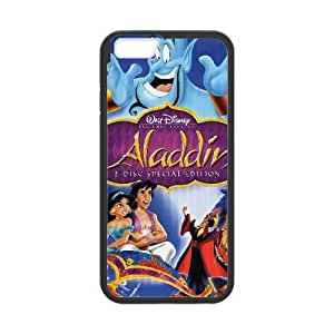 iphone6 plus 5.5 inch Black phone case Disney Cartoon Comic Series Aladdin and the King of Thieves OLR3122027