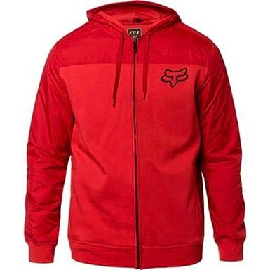 Fox Racing - Sudadera con Capucha - para Hombre Rojo Rio Rd S