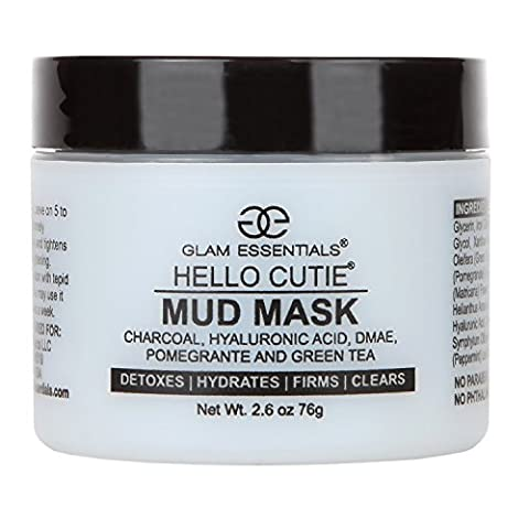Blackhead Removal Mask - All Natural Aloe Base Made With Activated Charcoal, Relieves Acne, Pimple and Shrinks Pores Instantly Guaranteed - No Burning or Irritation Unlike Other Clay Mud - Best Clay Mask