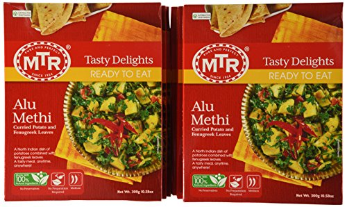 MTR Alu Methi, 10.58-Ounce Boxes (Pack of 10) by MTR