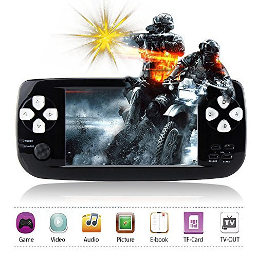 "Handheld Game Console,Rongyuxuan Portable Video Game 4.3""TFT"