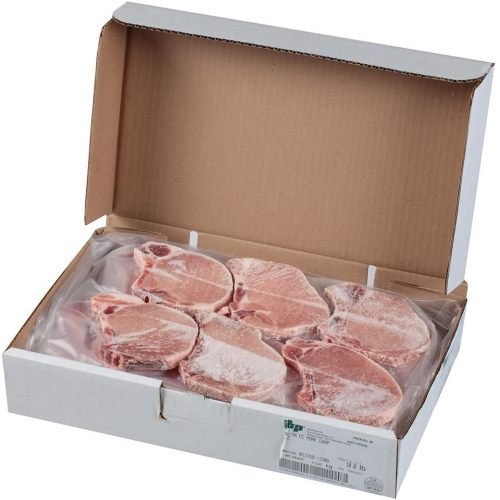Tyson Bone In Center Cut Pork Chop, 10 Pound -- 1 each.