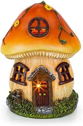 Mushroom Fairy House Solar Garden product image