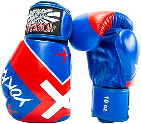 Yokkao X Muay Thai Boxing Gloves Breathable Leather