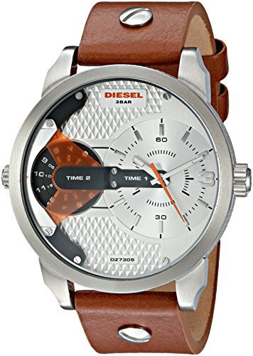 Diesel Mini Daddy Men's Watch - Silver