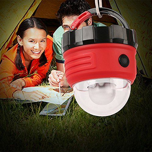Emergency-Lamp-Tent-Light-Lantern-Led-Portable-Magnet-Outdoor-Camping-Hiking-Us-Safe-Stable-And-Reliable-Outdoor-Indoor-Activities-Red-Housing-Black-Base-Brand-New