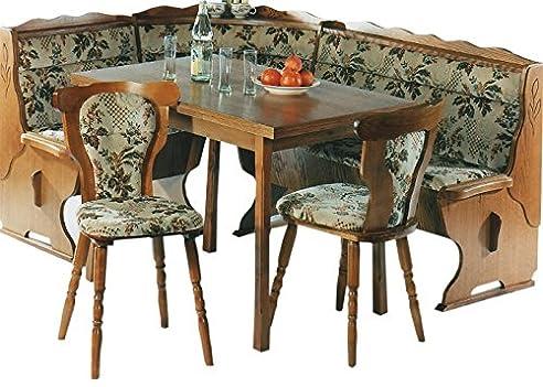 Nice Eckbank   Küchenbank   Eckbankgruppe   Eiche Rustikal P43   2 Stühle    Küchenstühle   Ausziehbarer Nice Look