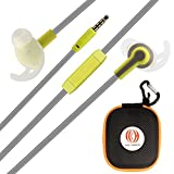 Earphones Sport Earbuds HYX In Ear Headphones Stereo with Microphone and Volume Control Noise...