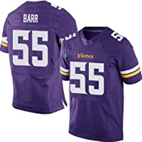 NBJBK Jersey de la NFL Minnesota Vikings 55# 28# 26# 22# 14# Elite Edition Jersey de Rugby Bordado Camiseta de fútbol Ropa Deportiva de Manga Corta Camiseta Deportiva Superior