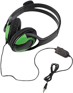 Candyboom Hot 3.5mm Audio con Cable Juegos Auriculares Auriculares ...