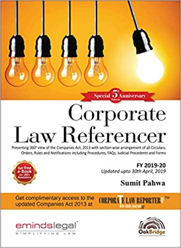 Corporate Law Referencer, Special 5th Anniversary Edition