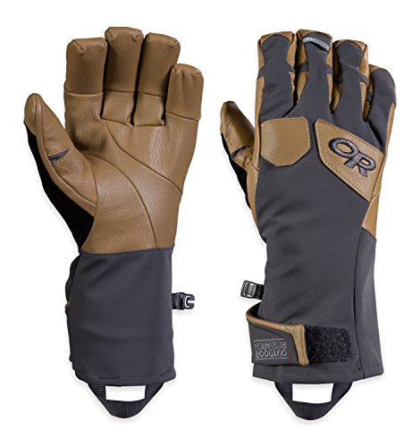 Outdoor Research Men's Extravert Gloves, Charcoal/Natural, ()