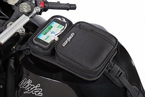 Cortech 8225-2405-00 Micro 2.0 Motorcycle Tank Bag, Black by Cortech