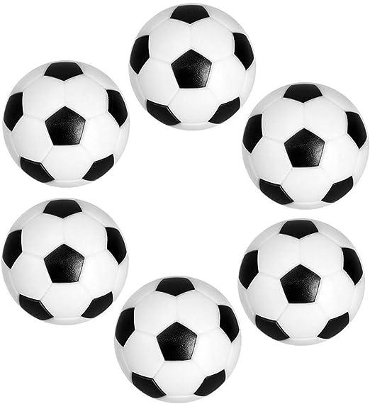 Ishua 6 PC Mini Mesa de fútbol Balones Profesionales Balón de ...