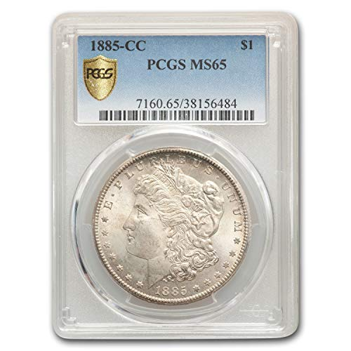 1885 CC Morgan Dollar MS-65 PCGS $1 MS-65 PCGS