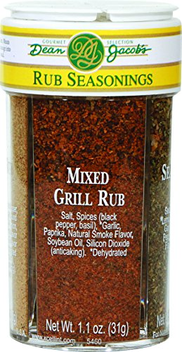 Dean Jacob's 4in1 Mixed Gourmet Rub Seasonings