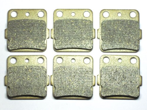 Master Chen Front Rear Brake Pads Brakes for Honda TRX 400EX 400 EX FA084FR ATV MC0063-PAD