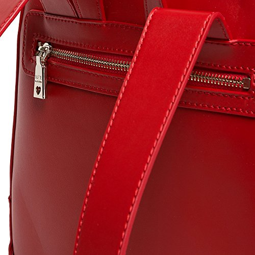 Love Moschino - Bolso mochila  para mujer Rojo