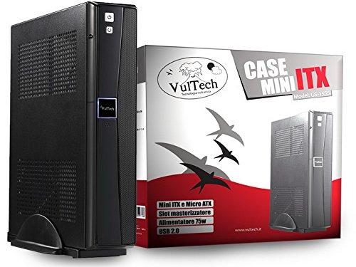 4 opinioni per Case Mini-Itx Vultech GS-1555 Con Alimentatore Elettronico 75W