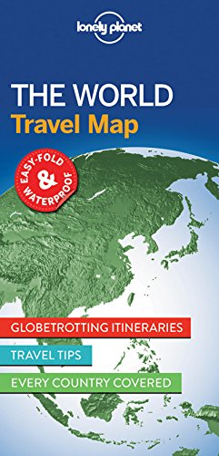 Planning Map - Lonely Planet The World Planning Map