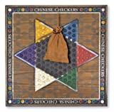 : Melissa & Doug Classic Wooden Chinese Checkers Game Board