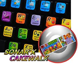 SONAR X KEYBOARD STICKERS