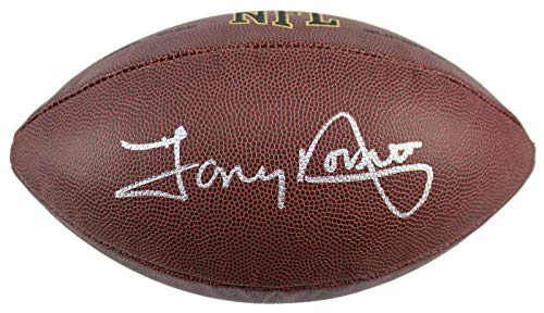 Tony Dorsett Autographed Football - Super Grip BAS Witnessed - Beckett Authentication - Autographed Footballs -