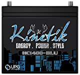 Kinetik KHC1400 Power Cell Car Audio Battery System, High Current, 1400w HC1400