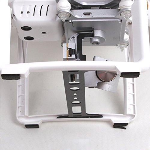 TELESIN DJI Protector Board Carbon Fiber Camera Lens Protect Landing Gear Gimbal Guard for Phantom 3 RC Parts