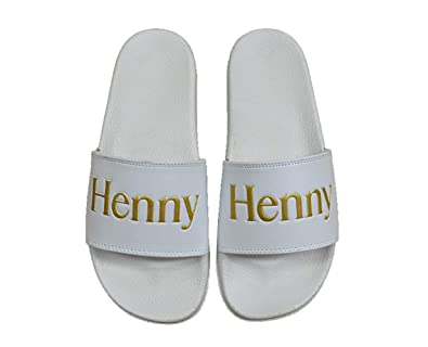428d97ce8 CONNETIC Henny Slides White Gold Slip On Men s Sandals ...