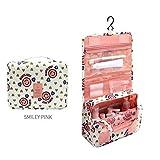 zojirushi baby mug - 1Pcs Hanging Travel Cosmetic Bag Toiletry Organizer-Cosmetic Bags for Women Travel-Toiletry Bag for Men/Women-Makeup Bag and Cosmetic Travelling Organizer-Makeup Bags for Women Organizer (Pink)