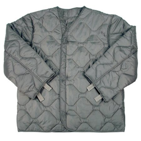 Foliage Green Quilted M-65 Field Jacket Liner, U.S. Army Cold Weather Coat Insert (X-Large) (Cold Weather Jacket Liner)