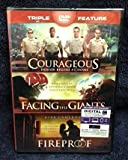 Courageous, Facing the Giants, Fireproof triple feature