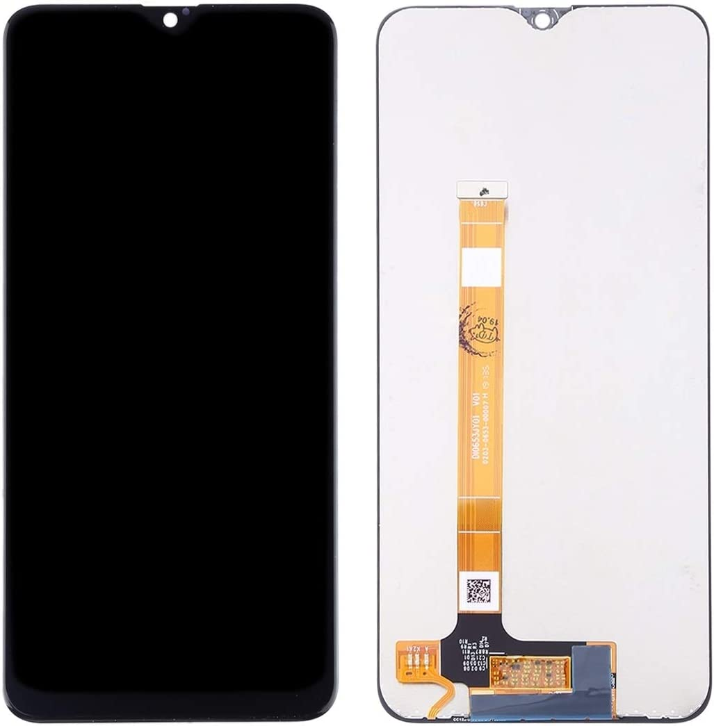 Black LCD Screen Mobile Phone and Digitizer Full Assembly for Oppo A9 F11 Color : Black