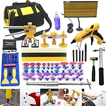 Image of Dent Removal Tools Anyyion 98pcs Paintless Dent Repair Kits,Car Body Dent Repair Tools Hail dent Removal Kit for Car Hail Damage Dent & Ding Remover(Full Set Starter Set Kits)