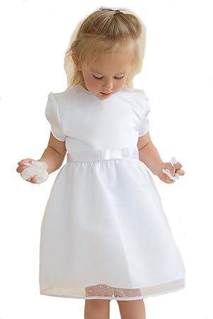 Baby Taufkleid Emilia von HOBEA-Germany, Größe Kleider:62: Amazon.de ...