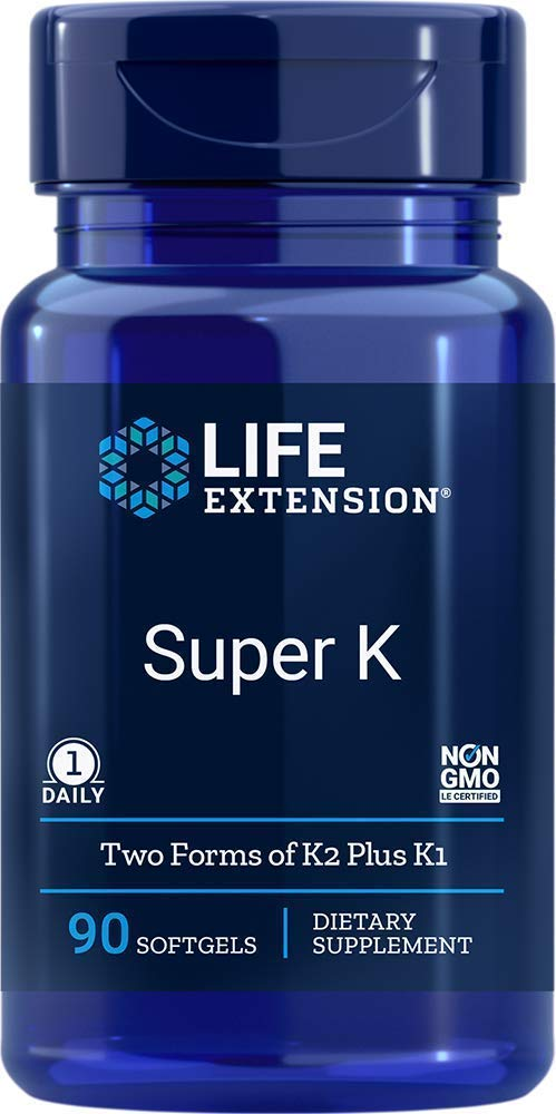 Life Extension Super K, 90 Softgels (Pack of 2