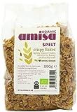Amisa Organic Crispy Spelt Flakes 250 g (Pack of 3)